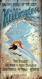Killington Ski Vintage Wood Sign