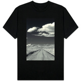 Countryside with Road Horizon T-shirts