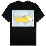 Hopeful Doggie - Crayon Critter I Shirt