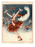 La Vie Parisienne, A Vallee, 1924, France Prints