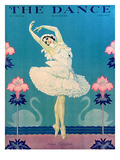 The Dance, Anna Pavlova, 1929, USA Kunstdruck