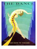 The Dance, Tamara Geva, 1929, USA Giclée-tryk
