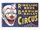 Barnum and Bailey's Circus, USA - Giclee Baskı