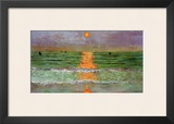 Sunset, 1913 Framed Giclee Print by Félix Vallotton