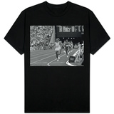 Sebastian Coe Winning 1500 MeterFinal at the Los Angeles Olympics in 1984 T-Shirt
