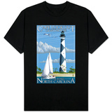 Cape Lookout Lighthouse - Outer Banks, North Carolina T-shirts