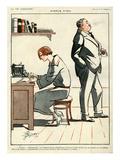 La Vie Parisienne, Rene Prejelan, 1922, France Giclee Print
