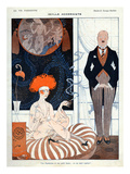 La Vie Parisienne, G Barbier, 1918, France Prints