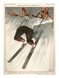 La Vie Parisienne, A Vallee, 1924, France Giclee Print