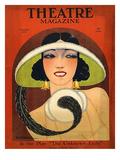 Theatre Magazine, 1924, USA Giclée-tryk