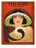 Theatre Magazine, 1924, USA - Giclee Baskı