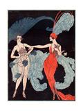 La Vie Parisienne, G Barbier, 1918, France Giclee Print