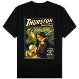 Thurston the Great Magician Holding Skull Magic Poster T-shirt