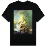 Christ In The Storm On The Sea Of Galilee Koszulki