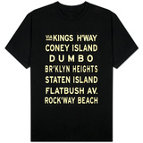 Brooklyn Sign T-shirts