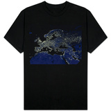 Europe at Night T-shirts