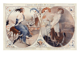 La Vie Parisienne, Leo Fontan, 1922, France Giclee Print