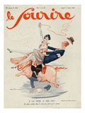 Le Sourire, 1926, France Giclee Print