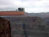 Travel Trip Grand Canyon Skywalk Photographic Print by Ross D. Franklin