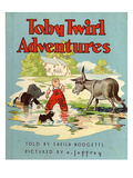 Toby Twirl Adventures, 1949, UK Giclee Print