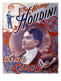 Harry Houdini, UK Giclee Print