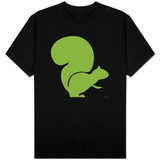 Green Squirrel T-shirts