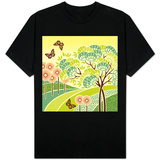 Hazy Day Butterflies T-Shirt