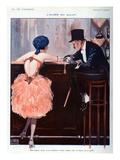 La Vie Parisienne, Georges Leonnec, 1920, France Giclee Print
