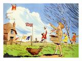 Infant School Illustrations, UK Prints