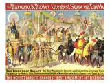 Barnum & Bailey's, 1903, USA Giclee Print