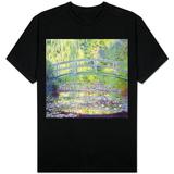 Lago de nenúfares e a ponte japonesa, 1899 T Shirts