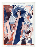 La Vie Parisienne, Zaliouk, 1923, France Prints