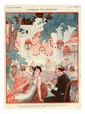 La Vie Parisienne, Vald'es, France Giclee Print
