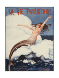 La Vie Parisienne, Leo Pontan, 1924, France Julisteet