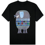 Retro Elephant T-shirts