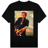 Keith Richards Performing on Stage at the Rolling Stones in Concert at Twickenham, August 2006 T-Shirts
