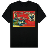 Giuseppe Garibaldi Macaroni Label - Philadelphia, PA T-Shirt