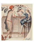 La Vie Parisienne, 1925, France Prints