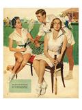 Tennis, Maudson, 1953, UK Impression giclée