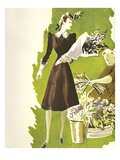 Women's Fashion 1930s, 1939, UK Prints