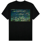 Waterlilies: Green Reflections, 1914-18 (Right Section) Shirts