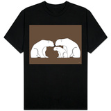 Brown Polar Bears Shirt