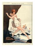 La Vie Parisienne, Armand Vallee, 1923, France Posters