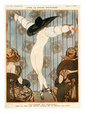 La Vie Parisienne, A Vallee, 1919, France Giclee Print