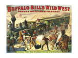 Buffalo Bill's Wild West Show, 1907, USA Giclee Print
