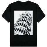 Leaning Tower of Pisa from Below Shirt
