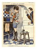 La Vie Parisienne, Georges Pavis, 1919, France Giclee Print