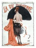 La vie Parisienne, Georges Leonnec, 1920, France Giclée-tryk