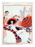 La Vie Parisienne, Vald'es, 1923, France Prints