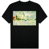 Sailboats, regatta in Argenteuil T-shirts